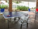 Outdoor recreational area - Ping-pong table