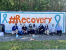Recovery Month Mural