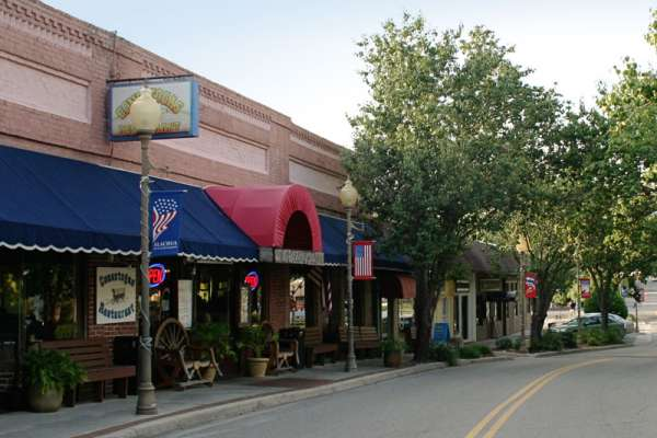 The town of Alachua